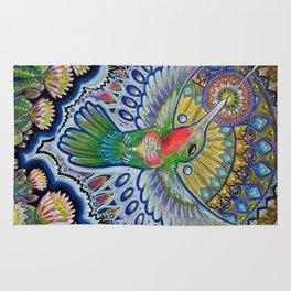 Hummingbird & Cactus - Beija Flor III Rug
