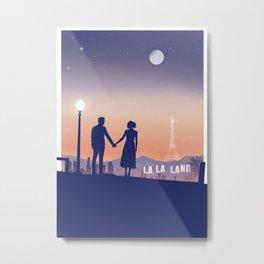 La La Land Metal Print