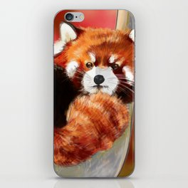 Red Panda iPhone Skin