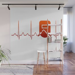 WELDER HEARTBEAT Wall Mural