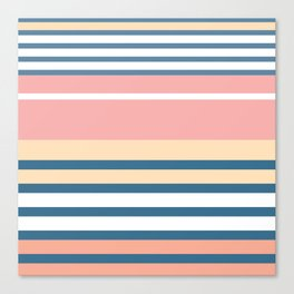 Bronte Stripe Canvas Print