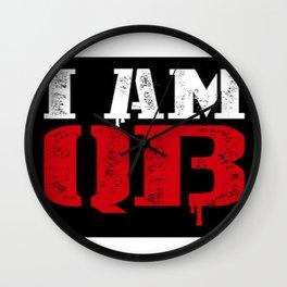 I am Qb    Ruc Mr QB I am Queensbridge official Artwork   Wall Clock