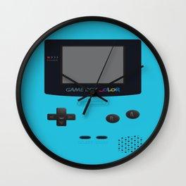 GBC Blue Wall Clock