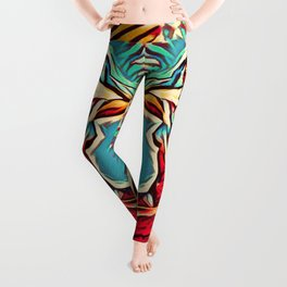 Away From The Past Leggings