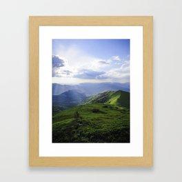 Uzhgorod Framed Art Print
