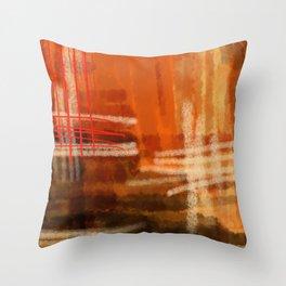 Hot summer-été brûlant- Mirage Throw Pillow