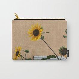 Santa Fe Sunflowers Carry-All Pouch