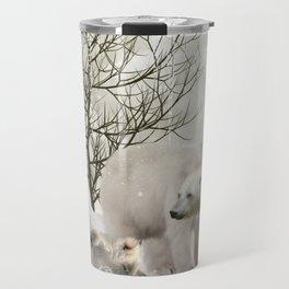 Awesome polar bear Travel Mug