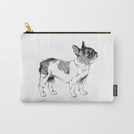 French Bulldog Ink Drawing Carry-All Pouch