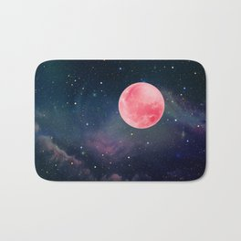 Pink Moon Bath Mat