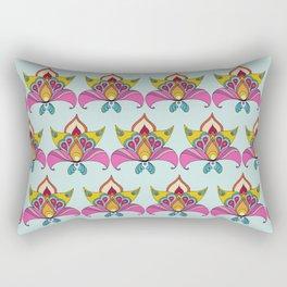 Persian Flower  Rectangular Pillow