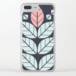 graphic pattern Clear iPhone Case