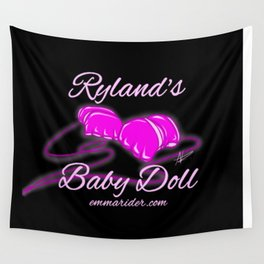 Ryland's Baby Doll Gloves Logo Wall Tapestry