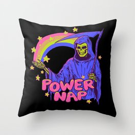 Power Nap Throw Pillow