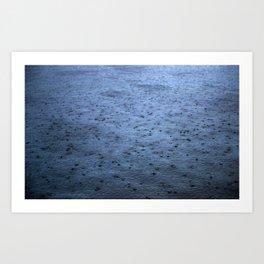 Estuary Rain Art Print