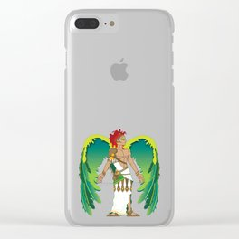 St. Raphael Clear iPhone Case