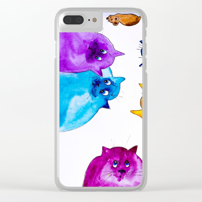 Dreamers Clear iPhone Case
