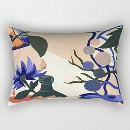 When it pours Rectangular Pillow