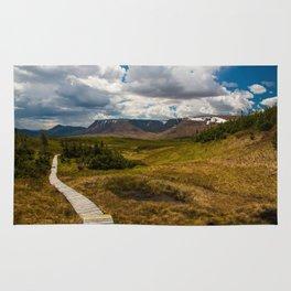 The Tablelands, Gros Morne National Park Rug