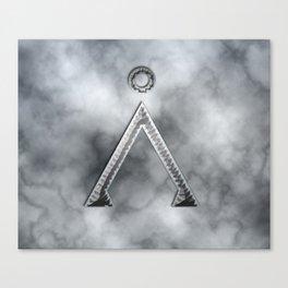Stargate and smoke Canvas Print