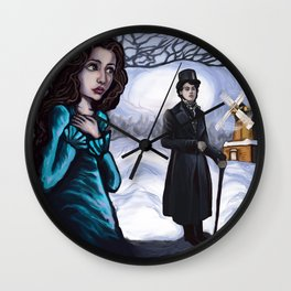 Eugene Onegin Wall Clock