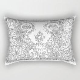 Devine messenger  Rectangular Pillow