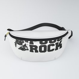 Cute & Funny Pugs Rock Pug Owners Fanny Pack