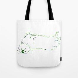 Simplistic Corgi Tote Bag