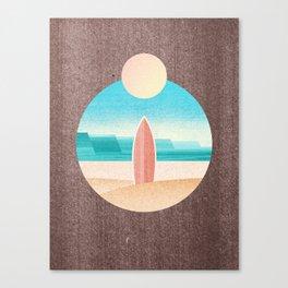 LANDSHAPES / Surfers Paradise Canvas Print