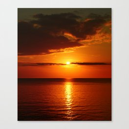 A  Beautiful Day´s End Canvas Print