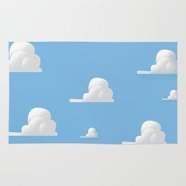 Cartoon Cloud Pattern Rug