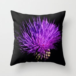 Cirsium Throw Pillow