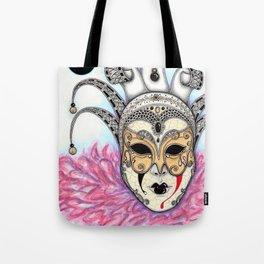 Máscara Veneciana Tote Bag