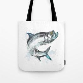 Tarpon Fish Tote Bag