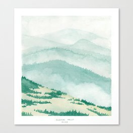 Sonoma: Coleman Valley Road Canvas Print