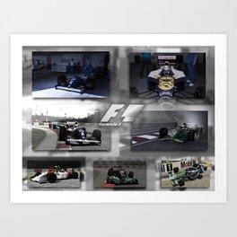 F1 Collection Art Print