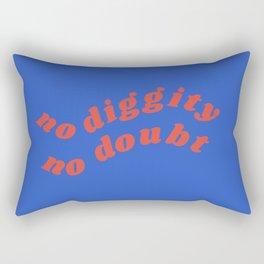 no diggity Rectangular Pillow