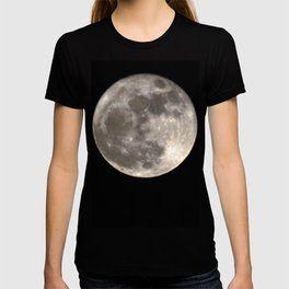 Can you see the man in the Moon smiling at us? T-shirt