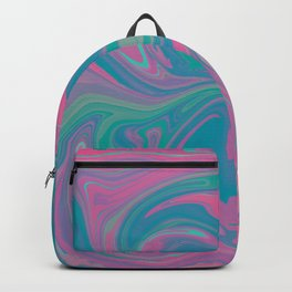 Acid marble dream Backpack