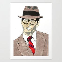 Christopher Reeve Art Print