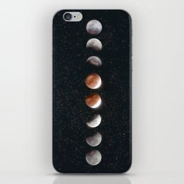 Phases of the Moon II iPhone Skin