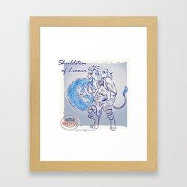 Shieldstom of Lionia Framed Art Print