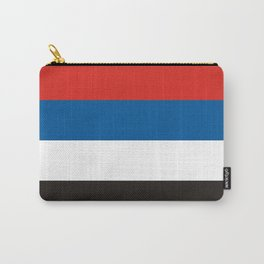 Native Peoples of Colombia ethnic flag Carry-All Pouch