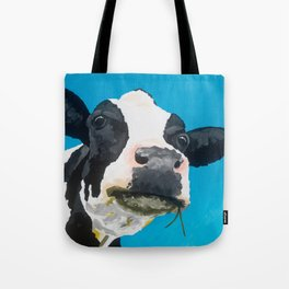 Margot the Relaxed Cow Tote Bag