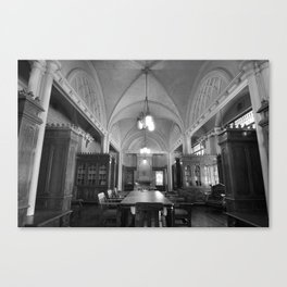 Library 1 Canvas Print