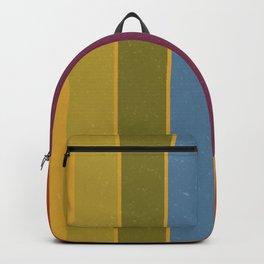 Retro Movie Camera Color Palette Backpack