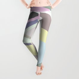 Overlapping Polygons Leggings