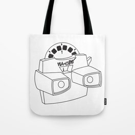 Viewmaster=Canon Tote Bag