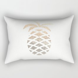GOLD PINEAPPLE Rectangular Pillow