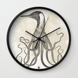 The Octo-Loon Wall Clock